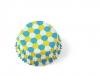 Hexagon (blå/gul)