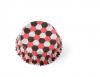 Hexagon (röd/svart)